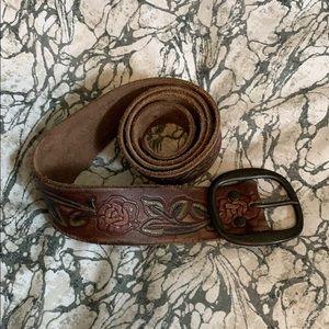 Abercrombie leather belt